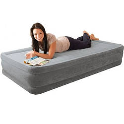 Надувне ліжко Intex Comfort Plush 67768 полуторне 137 см х 191 см х 33 см
