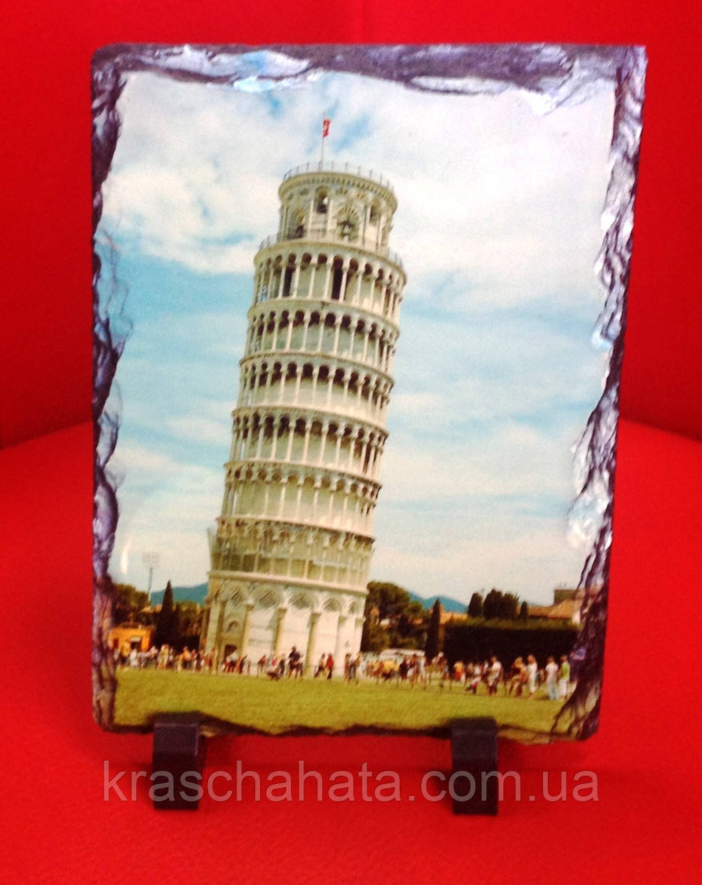 Картинка на камне, Пизанская башня, Подарки для туристов, Днепропетровск