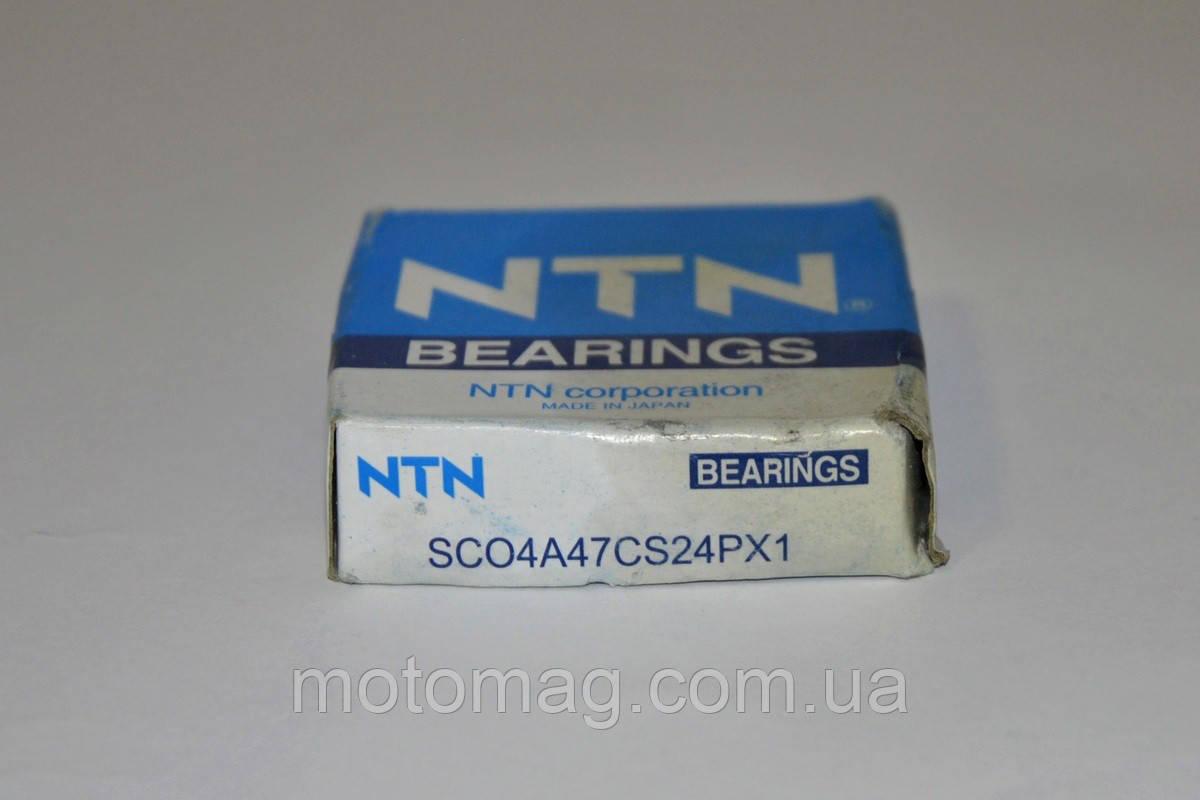 Подшипник коленвала SC04A47... (20*52*12) NTN (Тайвань), Honda Dio-18/27/Tact-24