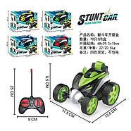 Трюковая машинка Stunt Car YT-368 на радиоуправлении, 13 см, резиновые колеса, фото 4