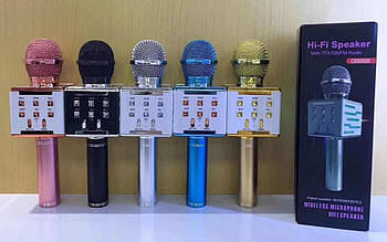 Беспроводной караоке-микрофон DS-868 .