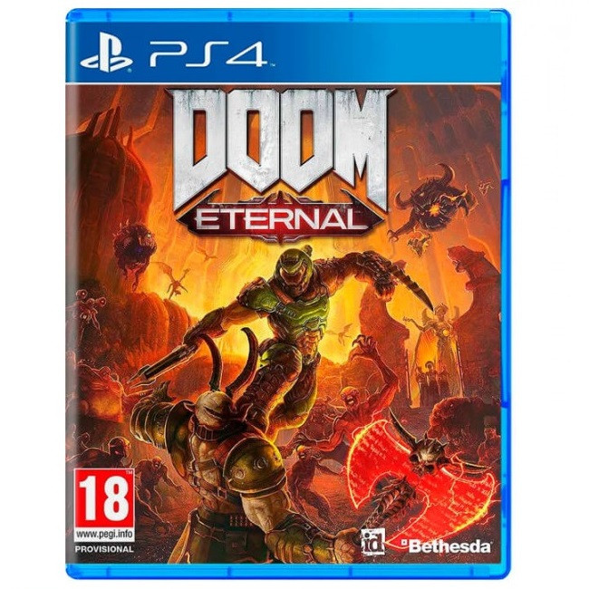 Игра DOOM Eternal для PS4