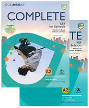 Complete Key for Schools Second Edition Student's Pack – комплект (учебник + тетрадь) / Cambridge
