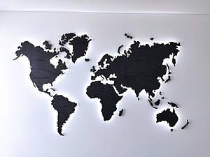 Карта мира с подсветкой.