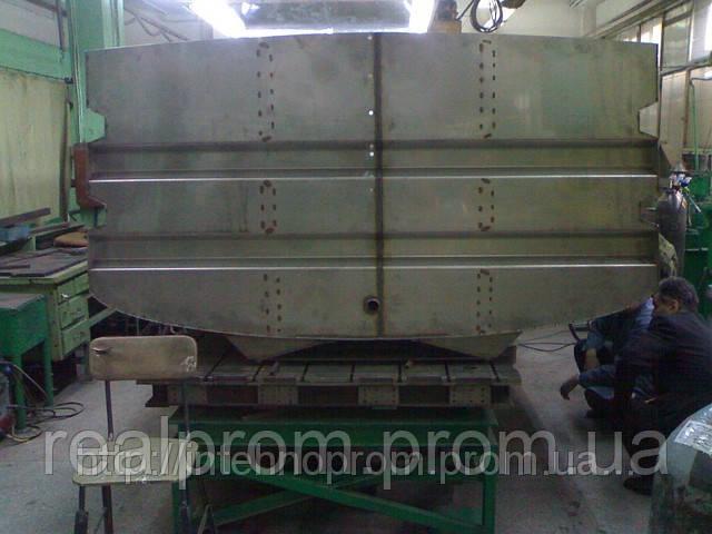 Емкости и баки металлические до10 куб.м - ООО «НПП «РЕАЛПРОМ» в Киевской области