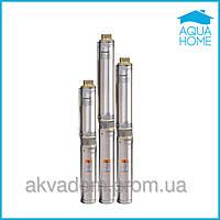 Насос для скважины Насосы+ БЦП 1.8-50У многоступенчатый со стальным тросом подвеса