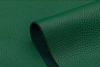 Натуральная кожа Флотар, зеленая, галантерейная, обувная, глянец, КРС