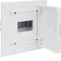 Распределительный щит внутренней установки на 4 мод.(1х4), GOLF, с белой дверцей