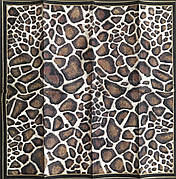 Серветка для декупажу 21х21 см леопардова
