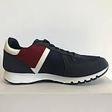 Кросівки чоловічі сині з червоним LaVento, фото 6