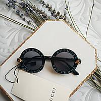 Детские круглые очки Gucci солнцезащитные