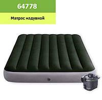 Кровать велюр 64778 137*191*25 см в кор