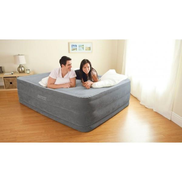 Надувная кровать Intex 64418 двухспальная 152 см х 203 см х 56 см
