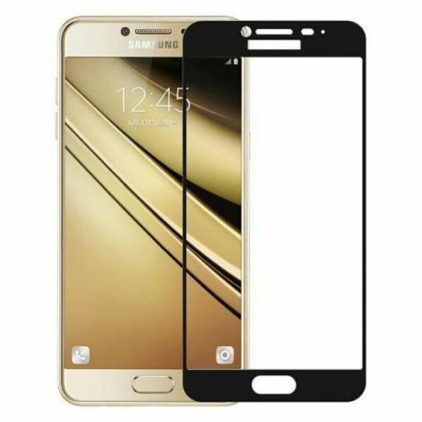 Противоударное стекло Optima Full Screen Samsung A510 A5-2016 Black
