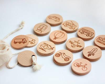 Гра для дітей SMARTKIDS Знайди пару-Транспорт   Ігри на логіку   Логічні ігри   Розвиваючі іграшки