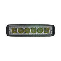 Світлодіодна LED Фара робочого світла 12-24v CYCLONE WL-308 SLIM 18W EP6 SP