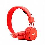Наушники беспроводные  NIA MRH-8809 оранжевые, фото 2