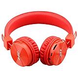 Наушники беспроводные  NIA MRH-8809 оранжевые, фото 4