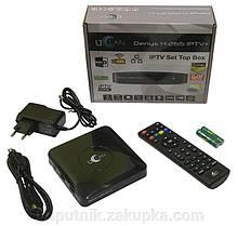 IPTV приставка uClan DENYS IPTV+ Тв приставка смарт