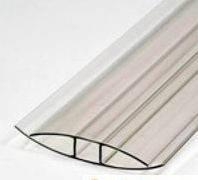Соеденительный профиль для поликарбоната 8 мм