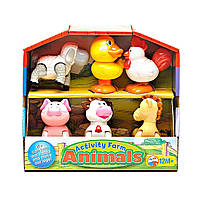 Игровой Набор - Домашние Животные Kiddieland Activity Farm Animals 041244