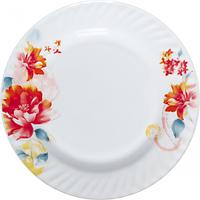 """Тарелка закусочная """"Пион"""", стеклокерамика (20 см.), фото 1"""