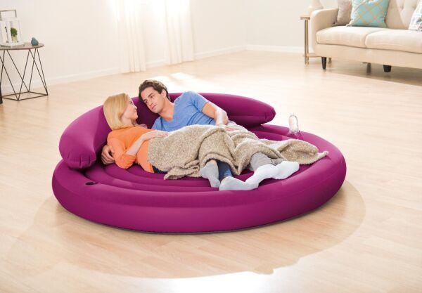 Надувной диван-кровать Intex 68881 191 см х 191 см х 53 см