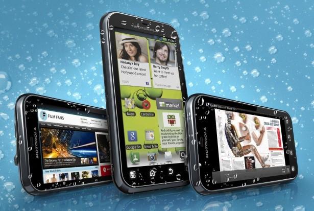 Обзор смартфона Motorola Defy