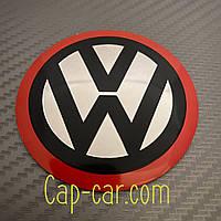 Наклейка фольцваген для дисков Volkswagen. 65мм. Металл. ( Фольцваген )