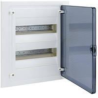 Распределительный щит внутренней установки на 24 мод. (2х12) GOLF, с прозрачной дверцей