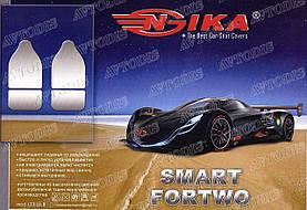 Авточехлы Smart Fortwo (450) 1998-2006 (красный) Nika