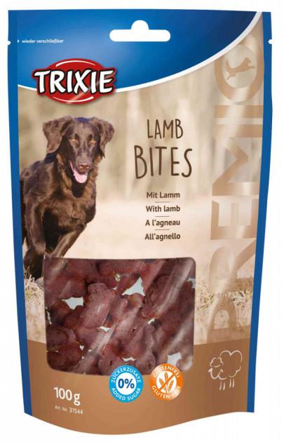 Ласощі для собак та цуценят Trixie PREMIO Lamb Bites ягня 100г