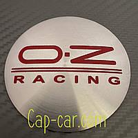Наклейка для дисков OZ-Racing. 65мм. Металл. ( ОЗ рейсинг )