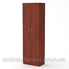 Шкаф книжный распашной с полками, узкий шкаф КШ-7 Компанит