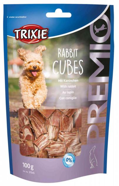 Лакомство для собак и щенков Trixie PREMIO Rabbit Cubes кролик 100г