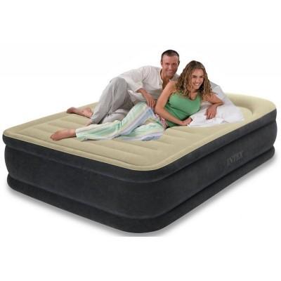 Надувная кровать Intex 64408 двухспальная 152 см х 203 см х 46 см