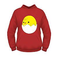 Балахон для будущих мам с принтом Цыпленок в яйце
