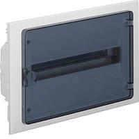 Распределительный щит внутренней установки на 18 мод. (1х18) GOLF, с прозрачной дверцей, фото 1