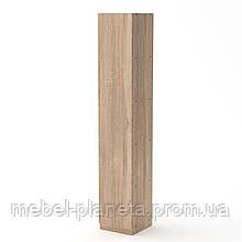 Узкий шкаф офиный КШ-8 Компанит