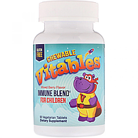 Vitables, Immune Blend (90 таб.), детские витамины, для иммунитета
