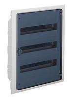 Распределительный щит внутренней установки на 54 мод. (3х18) GOLF,  с прозрачной дверцей