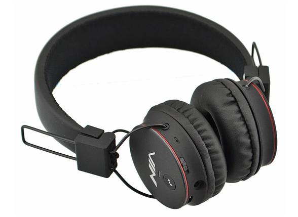 Беспроводные стерео наушники NIA X2 МР3 FM Bluetooth Black, фото 2