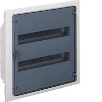 Распределительный щит внутренней установки на 36 мод.(2х18) GOLF, с прозрачной дверцей, фото 1
