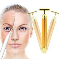 Ионный массажер для омолажения кожи лица Energy Beauty Bar, массажер для лица