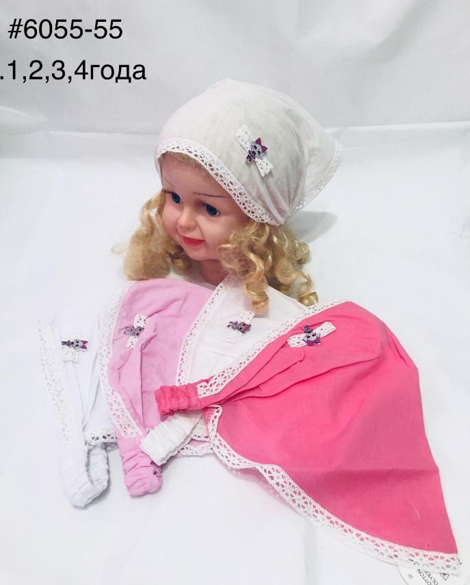 Летняя косынка для девочки Лол р. 1-4 лет