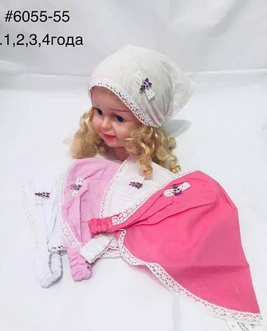 Летняя косынка для девочки Лол р. 1-4 лет, фото 2