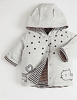 Куртка-пиджак весенняя от Джордж для девочки,0- 3месяца,54,5-61см,жакет від George для дівчаток