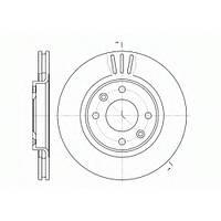 Тормозной диск передний CITROËN BERLINGO(MF) /Partner / C3/C4 /C5 /206 /207 / 307,660310