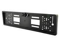 Камера заднего вида в рамке номерного знака Interpower IP-616 16 LED лампочки цвет черный, фото 1