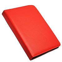 Универсальный поворотный чехол для планшета 7 дюймов Top Trends красный